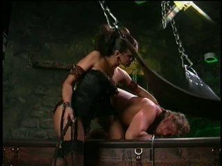 Dru berrymore 和 她的 性别 奴隶 视频