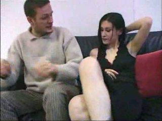 Ovidie szex tovább egy kanapé francia