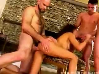 Olivia del rio banged by three dudes