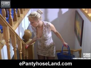 nominale blondjes video-, nominale speelgoed, vibrator