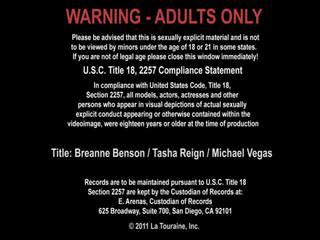 Breanne Benson And Tasha Reign And Michael Vegas Xxx