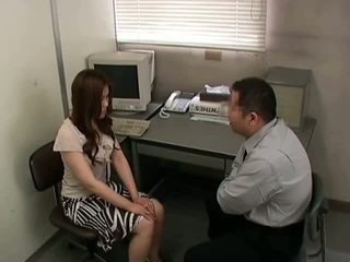 brunette, skinny porn, most office