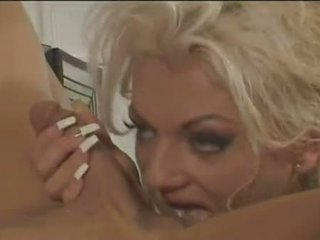 Nasty Golden Haired Victoria Spencer Acquires Her Sweet Bunghole Pushed In With Cock