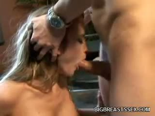 see big boobs, fun blowjob, ideal blonde full