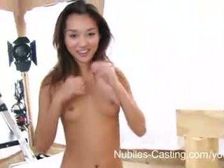 Nubiles casting - squirting asiatique ado vraiment wants ce emploi