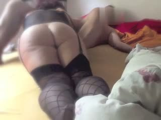 Big booty gal gives a great blowjob Video