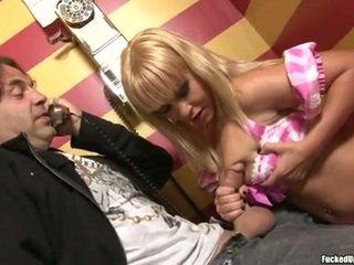 meloenen, zien grote lul kanaal, kwaliteit rondborstige blonde katya klem