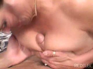 mooi brunette, orale seks, vaginale sex neuken