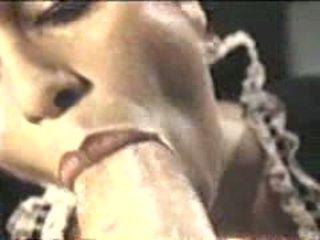 cumshot in de mond film, nominale tittyfucking video-, plezier mond gesnoerd