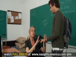 นักเรียน และ professor xander corvus, brandi ความรัก