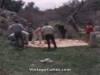vol jong mov, groepsseks video-, gratis wijnoogst