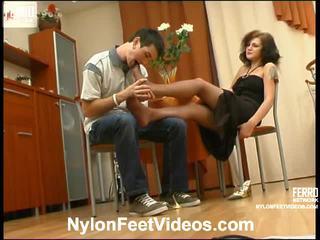 voet fetish film, online stocking sex thumbnail, gratis nylons feet neuken