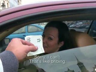 Natali Blue sex inside her car for cash