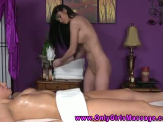 Hot Masseuse Loves Eating Clients Clit