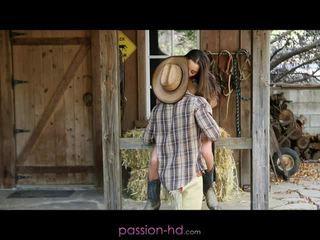 Hot cowgirl dani daniels creampied outdoors