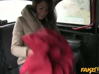 Hot gal from Latvia fucked in the cab