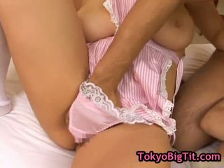 Busty Japanese Babes In Hot Threesom