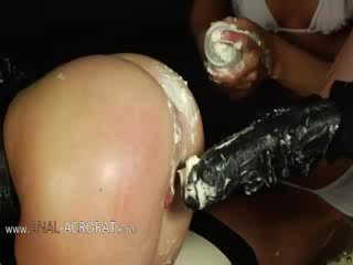 Extremely öler ýaly bottom games with cream
