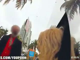 Brazzers & Alexis Monroe give a new twist to public fucking