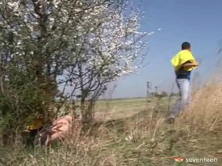 Blow Job Inside The Countryside