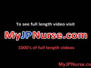 Aki yatoh asiatico infermiera likes scopata