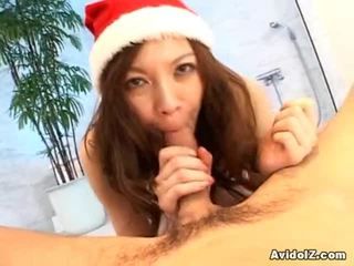 Wicked Japanese Angel Has The Nice ChristMas Surprise