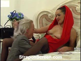 Helena dan randolph mindblowing strapon film