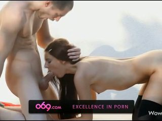 Cock play and pounding