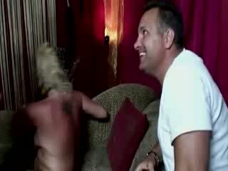 Old hooker takes it up the ass for a bit of cash and a laugh