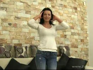 online brunette action, reality, blowjob clip