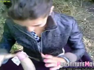 Street Hooker Romanian Blowjob And Facial