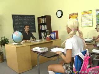 Blonde Beauty Delta White Fucked By Teacher Video