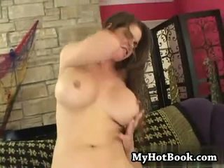 brunette, quality bigtits watch, rated riding fresh