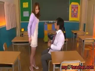 Eri Ouka Sweet Asian Teacher Enjoys Cock Part4