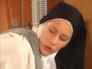 Feucht büchse nonne anal gefickt von die priest