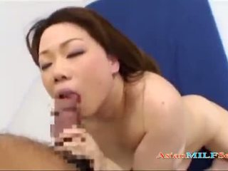 Busty Fat Milf Sucking Man Fucked Cum To Tits On The Bed