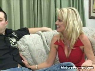 controleren milf sex thumbnail, volwassen film, echt aged lady video-