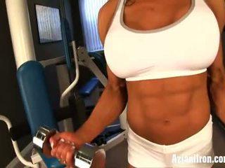 Naked trabaho out may female bodybuilder marina lopez