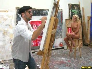An artist suche für ein modell bis paint