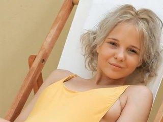 Trẻ cô gái tóc vàng thiếu niên monroe filthy siesta phần 1