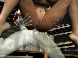 Kitty Krofts juicy pussy pounded in Womb Raider -That Voodoo That you do