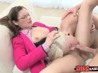 Samantha Ryan teach stepdaughter to fuck