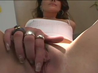 Sexy lady fucks hard with huge black dick