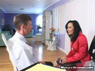 heet milf sex film, meest volwassen, mooi aged lady porno