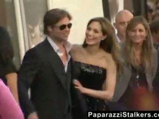 Angelina jolie di itu salt merah carpet