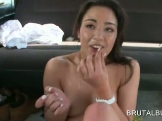 Hardcore and messy facial for amateur slut in