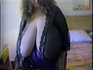 tieten klem, dik porno, een mollig video-