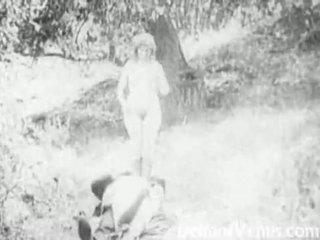 Piss: antik porno 1915 - a free ride