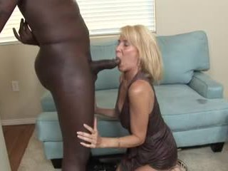 Various White Women Sucking Big Black Cocks