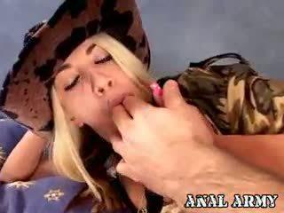Blonde Army Whore Britney Madison